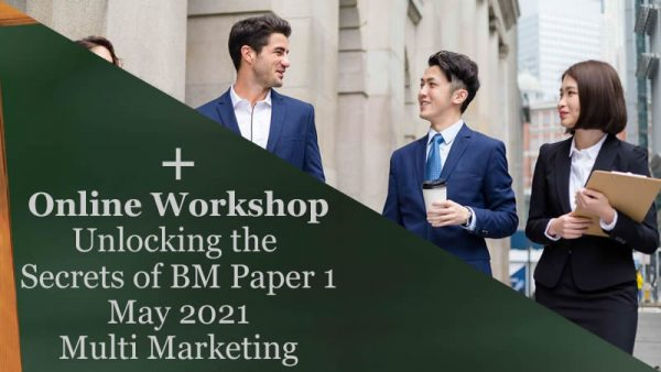 Business Management Paper 1 May 2021 Case Study Multi Marketing